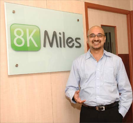 Image: Harish Ganesan, co-founder and chief technology officer, 8KMiles. Photograph: Sreeram Selvaraj
