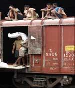 Indian cargo train