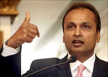 Anil Ambani, chairman of Anil Dhirubhai Ambani group.