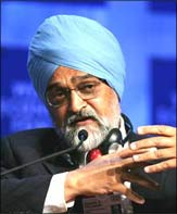Planning Commission Deputy Chairman Montek Singh Ahluwalia. Photograph: Reuters