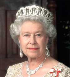 British Queen Elizabeth II