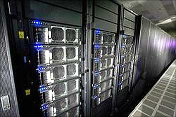 Jugene supercomputer