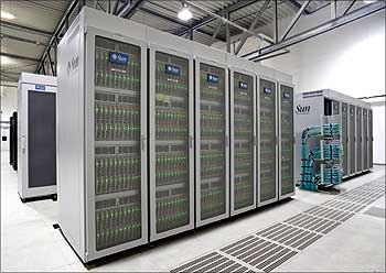Juropa supercomputer