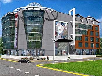 MHKS Mall at Chaoni designed at V.K. Associates, Nagpur.