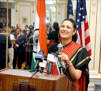 Indian Ambassador to the United States, Meera Shankar.