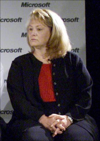 Yahoo CEO Carol Bartz.