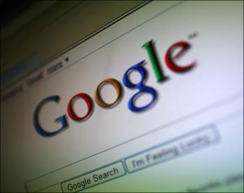 Google has 65 per cent share of the global search market.