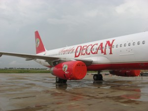 An Air Deccan aircraft