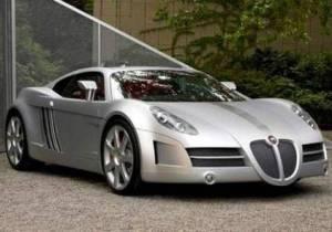 A Jaguar car