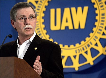 United Auto Workers Union President Ron Gettelfinger.