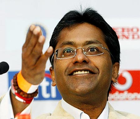 Lalit Modi, the ousted IPL boss