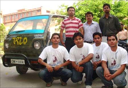 L to R: Piyush, Mohit, Ankit, Varun