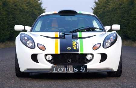 A tri-fuel Lotus.