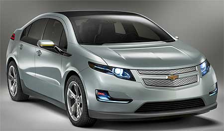 Chevrolet Volt is an amazingly progressive hybrid concept.