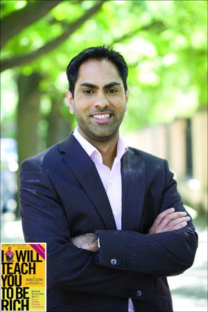 Ramit Sethi, author of the bestselling book 'I will Teach You to be Rich' (inset).