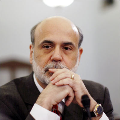 U.S. Federal Reserve Chairman Ben Bernanke testifies before the House Budget Committee on Capitol Hill in Washington
