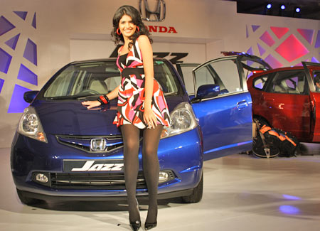 The Jazz in the same platform as the Honda City.