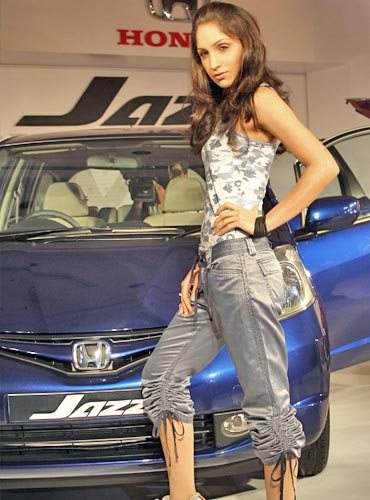Honda has positioned the Jazz as a 'cool' car for young, carefree professionals.
