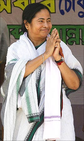 Mamata Banerjee, Minister of Railways.