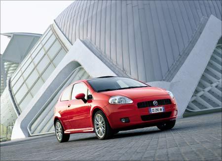 The Fiat Grande Punto.