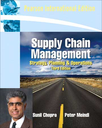 supply chain management sunil chopra solutions