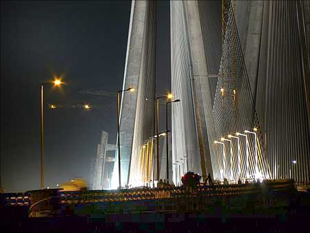 The cost of illuminating the bridge would be Rs 9 crore.