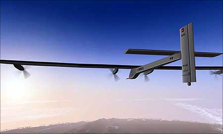 The Solar Impulse plane
