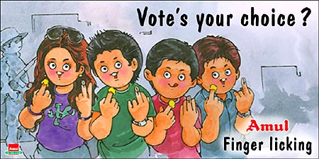 An Amul ad.