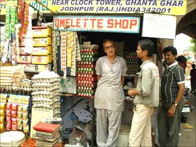Ramkishan Gawlani: the Omelette man