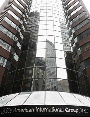 The American International Group building in New York. Shannon Stapleton/Reuters