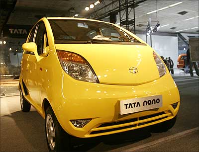 The Tata Nano. | Photograph: Rajesh Karkera