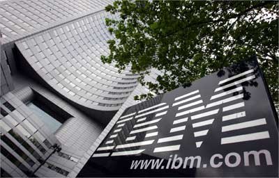 The IBM headquarters in Paris.