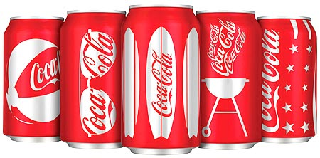 Coca-Cola products.