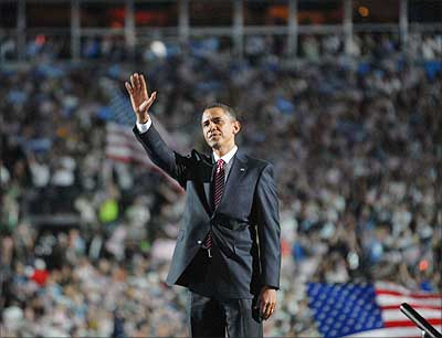 US President Barack Obama. Photograph: Paresh Gandhi