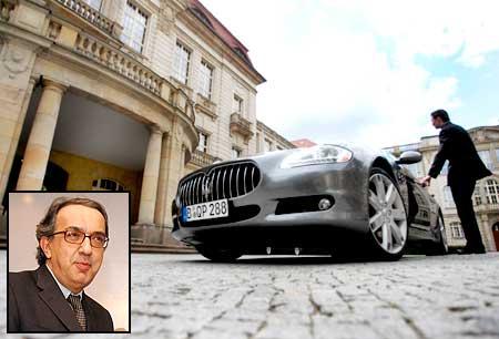 Fiat CEO Sergio Marchionne's Maserati