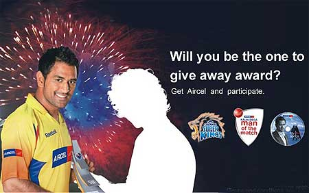 Will Dhoni be able to catapult Aircel into a pan-India mobile service company?