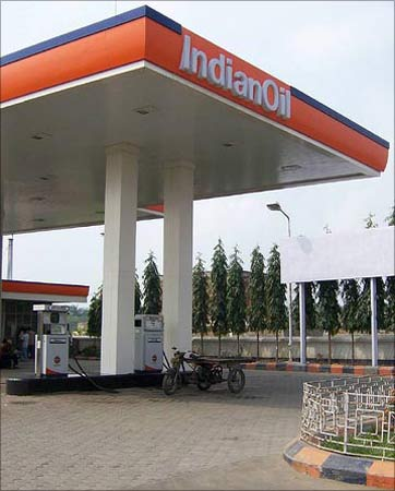 An IOC petrol station.