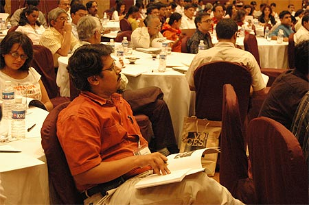Participants at a workshop