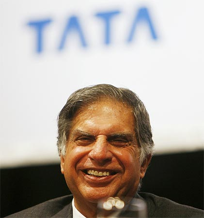 Ratan Tata, chairman of Tata Motors Ltd.