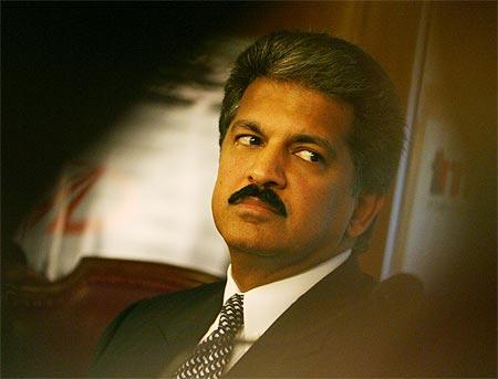 Anand Mahindra, vice chairman and managing director of Mahindra & Mahindra.