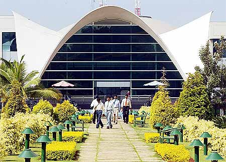 Infosys Technologies campus at Electronics City in Bangalore