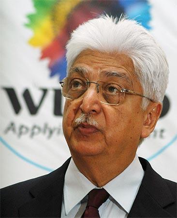 Azim Premji, chairman of Wipro Ltd.
