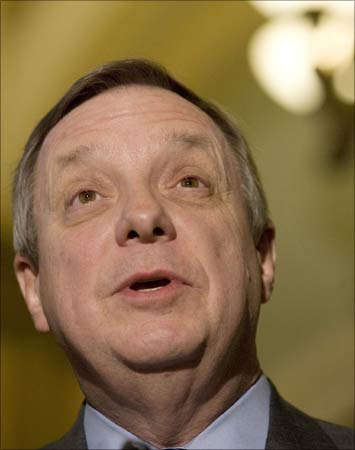US Senator Richard Durbin.