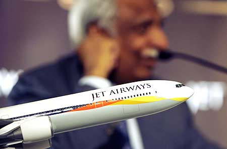 Jet chief Naresh Goyal.
