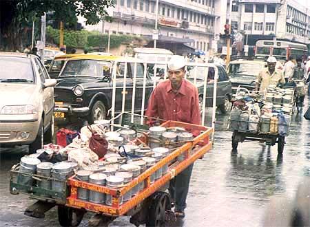 Dabbawallahs of Mumbai.