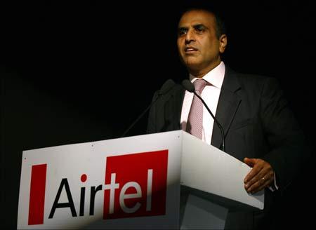 Bharti Airtel chairman Sunil Mittal.