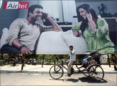 A Bharti Airtel ad.