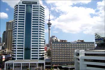 Pricewaterhouse Coopers Tower, Auckland, New Zealand.
