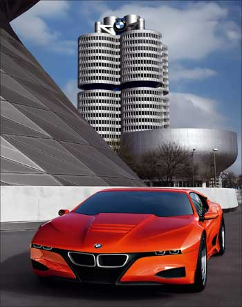 The BMW headquarter in Munich, Germany.