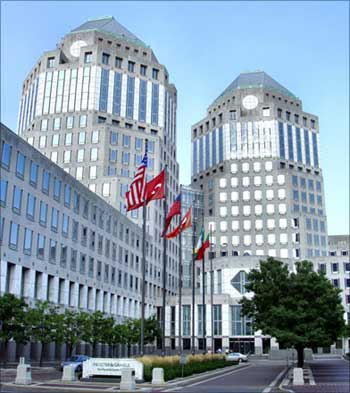 Procter and Gamble's headquarter in Cincinnati, Ohio.